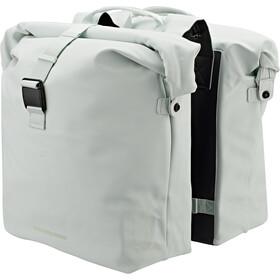 Basil SoHo Double Pannier Bag Nordlicht 41l pastel green